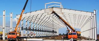 Строительство ангаров и металлоконструкций под ключ