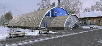 Спортивный ангар в Екатеринбурге