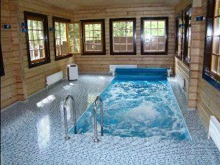 Строительство бани с бассейном в Екатеринбурге