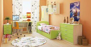 Дизайн детской комнаты в Екатеринбурге