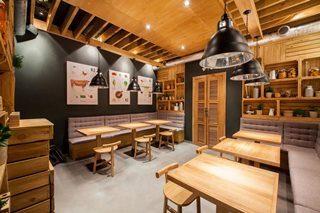 Дизайн интерьера кафе в Екатеринбурге