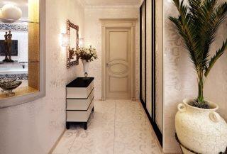 Фото варианты Дизайн коридора в Екатеринбурге