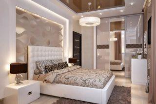 Дизайн спальни в Екатеринбурге