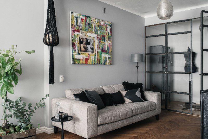 Дизайн интерьера квартиры в Промышленном стиле