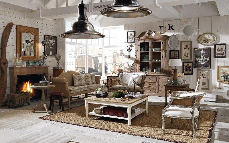 Дизайн интерьера квартиры в Винтажном стиле