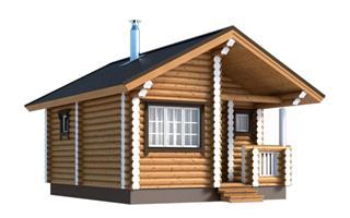 Проекты двухэтажных домов из бревна в Екатеринбурге