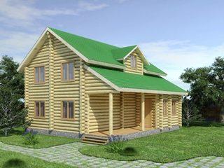 Проекты домов из бревна 5х7 в Екатеринбурге