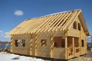 Проекты домов из бруса 10x11