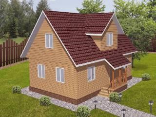 Проекты домов из кирпича 6х9 в Екатеринбурге