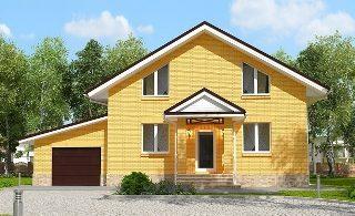 Проекты домов из кирпича 6х12 в Екатеринбурге