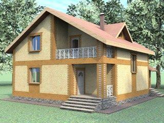 Проекты домов из кирпича 7х8 в Екатеринбурге