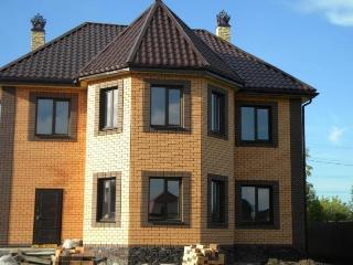 Проекты домов из кирпича 7х9 в Екатеринбурге