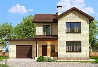 Проекты домов из кирпича 7х10 в Екатеринбурге