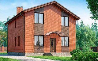Проекты домов из кирпича 8х8 в Екатеринбурге