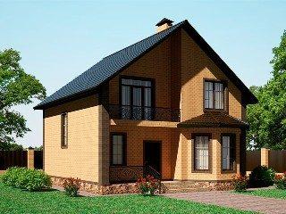 Проекты домов из кирпича 8х9 в Екатеринбурге