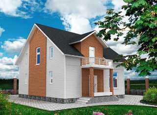 Проекты домов из кирпича 9х9 в Екатеринбурге
