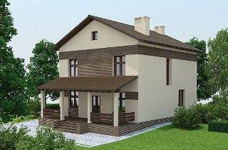 Проекты домов из кирпича 9х10 в Екатеринбурге
