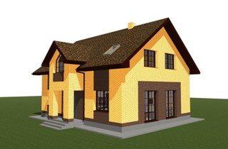 Проекты домов из кирпича 9х12 в Екатеринбурге