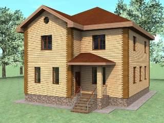 Проекты домов из кирпича 10х10 в Екатеринбурге
