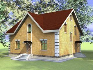 Проекты домов из кирпича 10х12 в Екатеринбурге