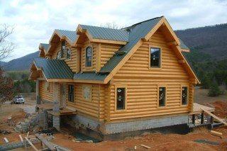 Строительство рубленых домов в Екатеринбурге под ключ