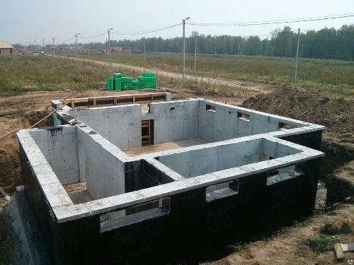 Строительство цокольного фундамент в Екатеринбурге
