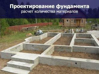 Проектирование фундамента дома в Екатеринбурге