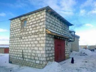 Строительство гаража из газобетона в Екатеринбурге