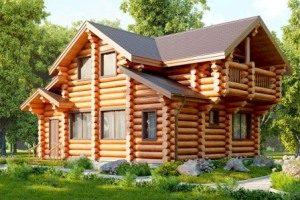 Строительство домов из сруба под ключ в Екатеринбурге
