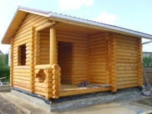 Строительство бань под ключ в Екатеринбурге