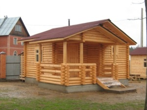 Строительство деревянных бань под ключ в Екатеринбурге