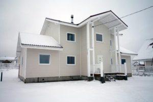 Каркасный зимний дом под ключ в Екатеринбурге
