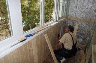 Ремонт балкона под ключ в Екатеринбурге