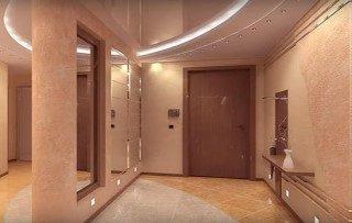 Ремонт коридора в квартире под ключ