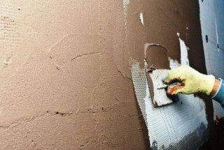 Фото процесса Штукатурка стен в Екатеринбурге