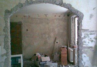 Фото процесса Перепланировка стен в Екатеринбурге