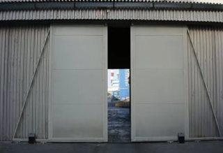 Откатные ворота гаражные в Екатеринбурге