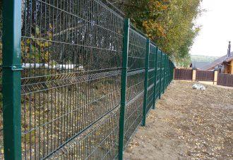 Забор из сетки гиттер (gitter) в Екатеринбурге