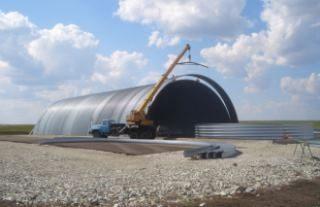 Фото Строительство зернохранилища в Екатеринбурге
